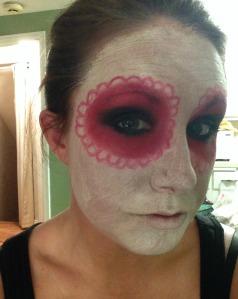 Fit Chick's DIY Sugar Skull